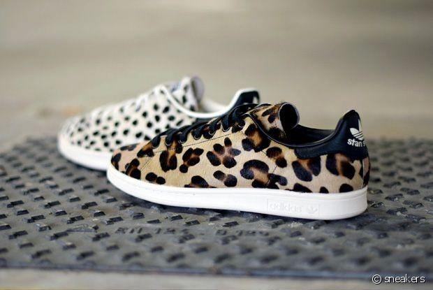 Achetez Ligne Adidas Femme Pour À Stan En Jour Smith Leopard Mettre 54RjL3A