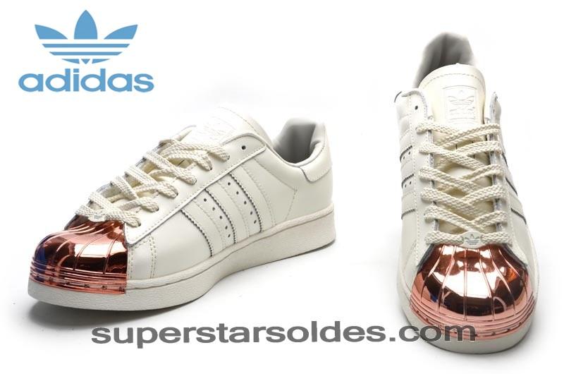 adidas superstars femme gold rose